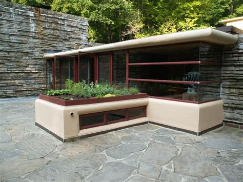 frank lloyd wright waterfall house tours fallingwater pictures third floor gallery terrace frank lloyd wright house above
