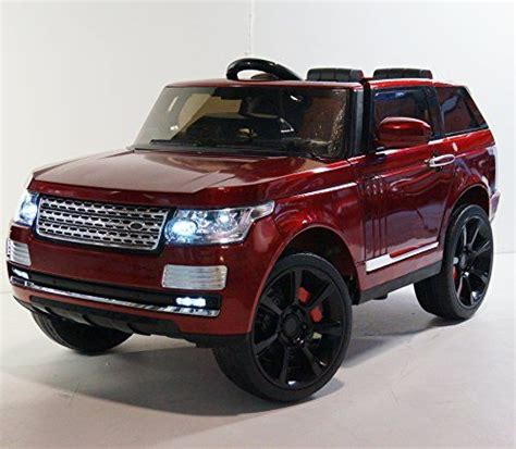 pink range rover power wheel battery operated 12v ride on car for range rover