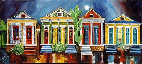 art design new orleans magazine quot magazine street revival quot original new orleans painting by
