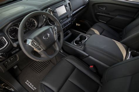 nissan titan interior 2017 mileti industries 2018 nissan titan midnight edition