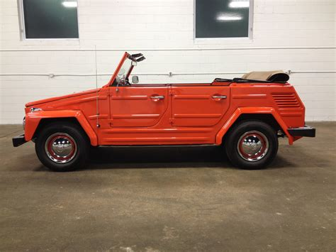volkswagen thing for sale 1972 volkswagen thing for sale on bat auctions sold for