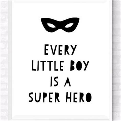 Nursery Wall Stickers For Baby Boy boys room printable typographic poster from