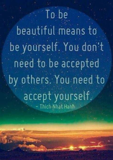quotes about accepting yourself accept yourself quotes and sayings pinterest