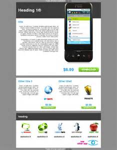 Apps Email Templates by Email Template Mobile I Phone Telephony App Software