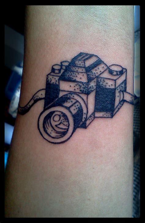 tattoo photo camera black and white camera tattoo tattoomagz