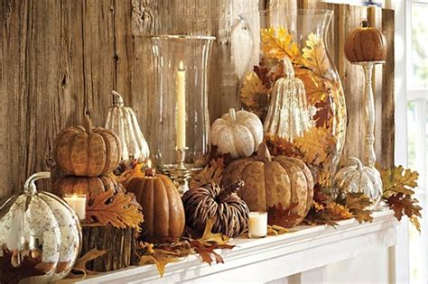 autumn decorating inspiration from pottery barn how to decorate your home for fall my love of style my