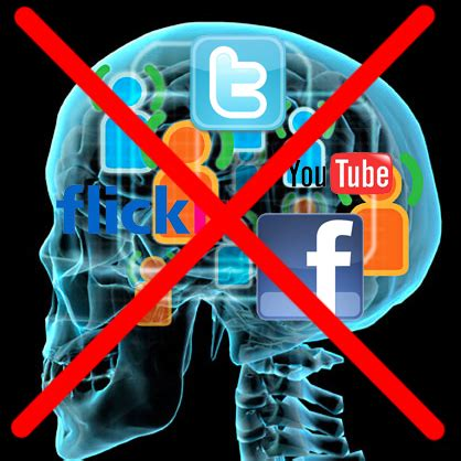 No More In The Media by From Social Media To Social Media Addiction Raul