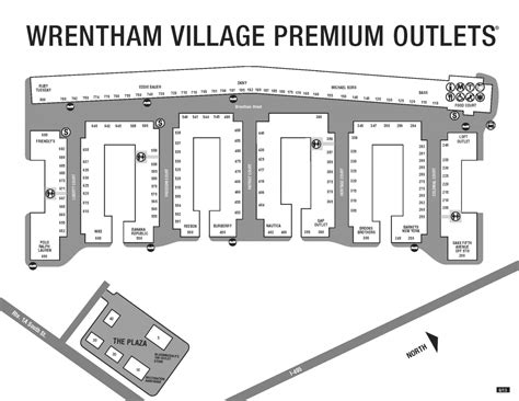 wrentham outlets map ed reilley s portfolio
