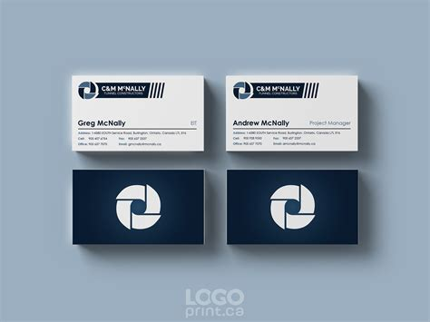business card designs logo print
