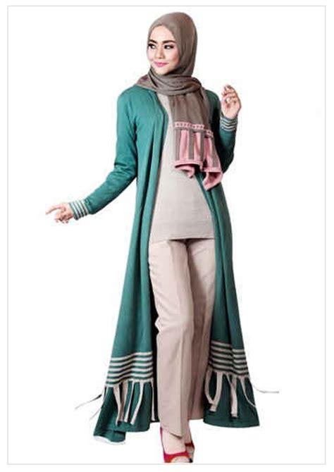 desain busana muslim modis untuk wanita muslimah 2017