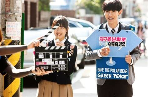 salut d amour film by exo chanyeol exo s chanyeol is cheerful on set of movie quot salut d amour