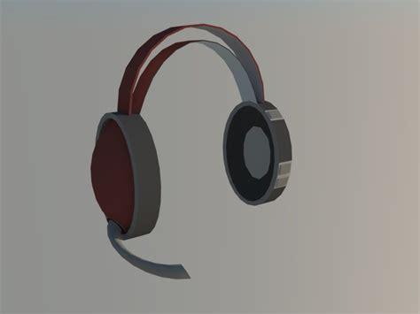 Headset Model Bando Mic headset 3d model buy headset 3d model flatpyramid