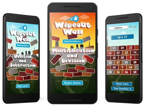 app design nottingham wipeout wall android and amazon kindle fire apps gooii