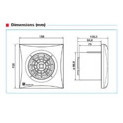 badkamer ventilator silent 100 cz megadump