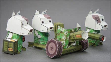 Papercraft Mobil - mobile wandam platoon 301 artillery unit