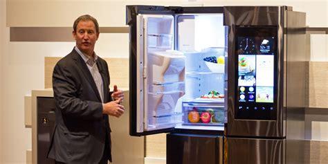 samsung family hub refrigerator  impressions review reviewedcom refrigerators