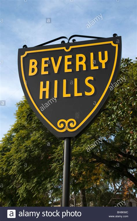 beverly hills sign beverly hills street sign beverly hills los angeles