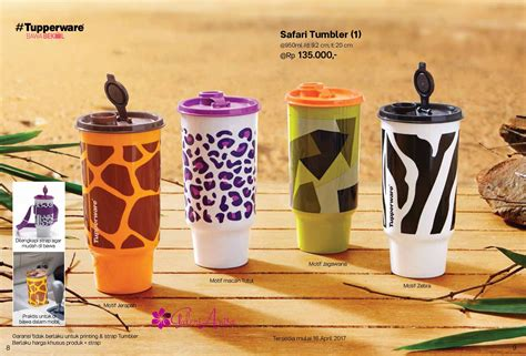 Tupperware Tumbler 4pcs Warna 2017 Botol Minum tupperware promo april 2017 katalog promo tupperware 2017