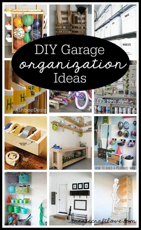 Garage Organization Ideas Diy Diy Garage Organization