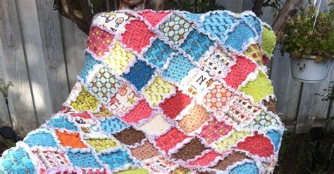 You Rag Quilt by Quilter Breagha S Rag Quilt