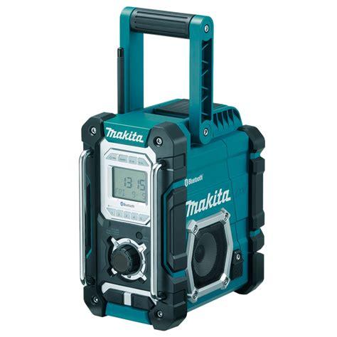 makita charger radio makita 7 2 18v bluetooth cordless site radio