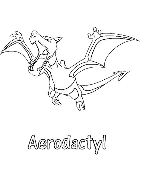pokemon coloring pages arbok aerodactyl pokemon coloring page aerodactyl pokemon