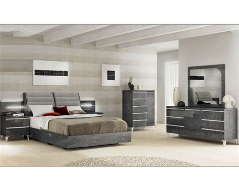 modern italian bedroom set modern italian bedroom set elite 3313ei
