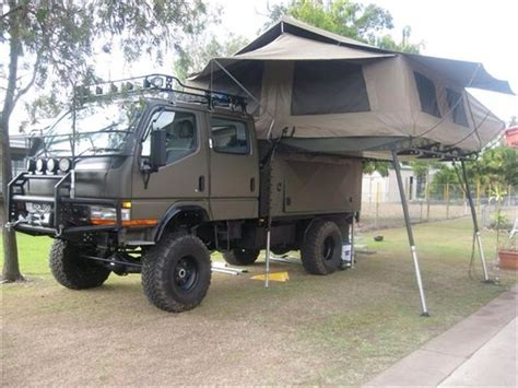 mitsubishi fuso 4x4 expedition vehicle mitsubishi fuso 4x4 my rv cing 4x4