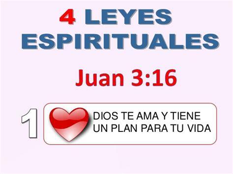 libro disciplinas espirituales para la 4 leyes espirituales