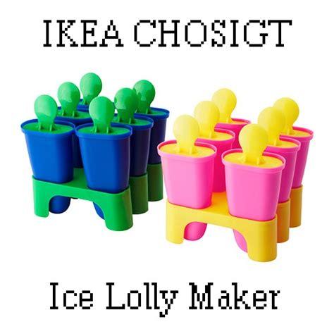 Ikea Chosigt Cetakan Es Krim Atau Es Loli Murah ikea chosigt lolly maker
