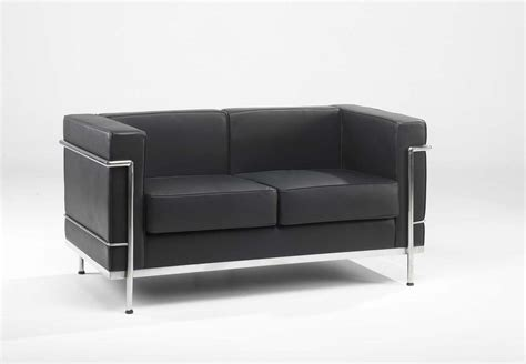 office settee furniture black leather office sofa innovative contemporary black
