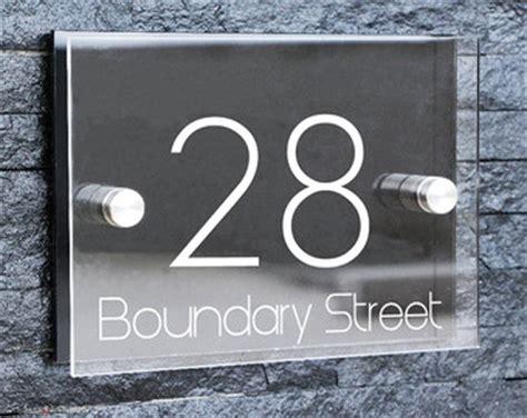 Front Door Number Plaques House Number Plaque Etsy