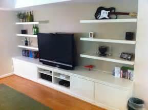 Entertainment Shelving Units Built In Besta Home Theater Ikea Hackers Ikea Hackers