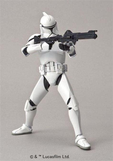 star wars  clone troopers bandai gundam models