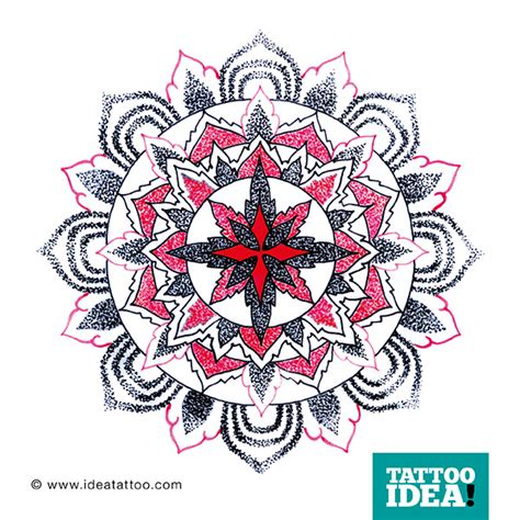 tattoo mandala flash tattoo flash mandala ideatattoo