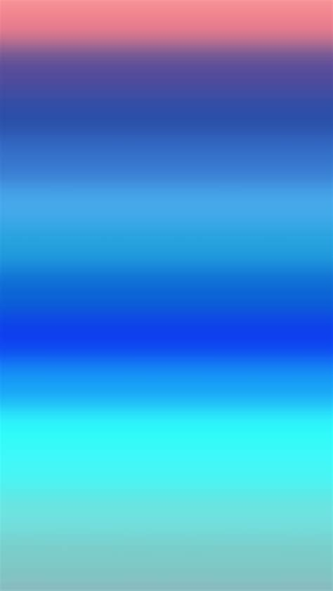 Kemeja White Gradation Blue Abstract blur