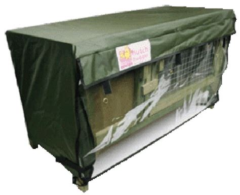 Scratch And Newton Hutch Hugger scratch newton chartwell rabbit hutch cover cage hugger waterproof ebay