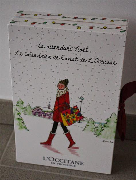 calendrier de l avent de l occitane en provence