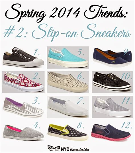 slip on sneakers trend 2014 trends slip on sneakers nyc recessionista