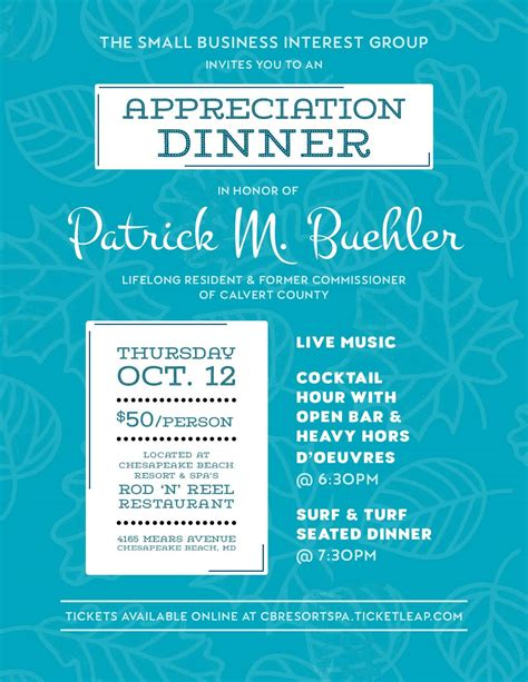 salon media group inc by meghan laslocky oct 11 2005 small business interest group appreciation dinner tickets