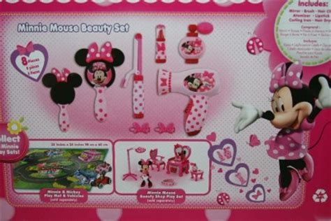 Minnie Mouse Hair Dryer Set new disney minnie mouse set dryer curling iron