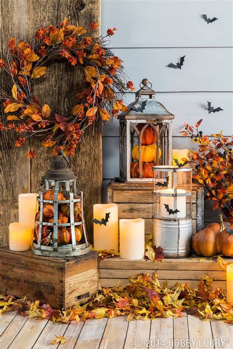 beautiful fall porches b lovely events