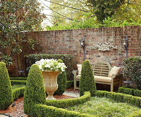 Brick Wall Garden Designs Decorating Ideas Design Garden Brick Walls
