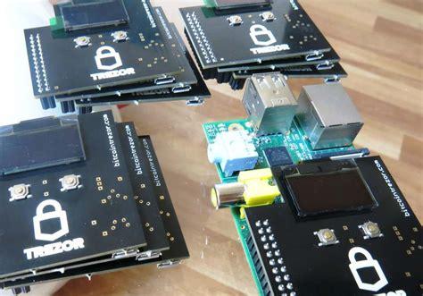 setup bitcoin node on raspberry pi trezor shield turns raspberry pi s into bitcoin wallets