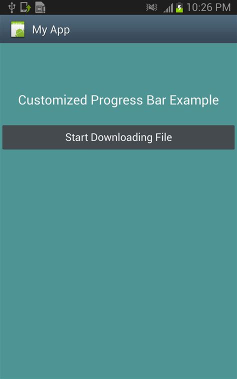 java android linearlayout custom progress bar in android free download wallpaper