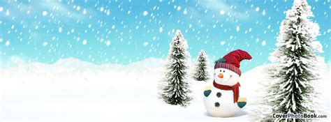 christmas timeline covers catoon winter snowman cover holidays