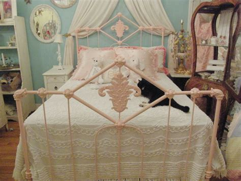 antique wrought iron beds pink antique wrought iron bed eclectic beds new york