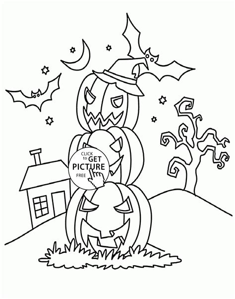 Halloween Coloring Pages For Fifth Graders | halloween coloring pages for 5th graders coloring pages