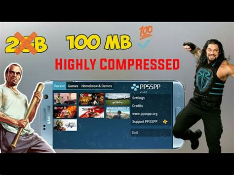 emuparadise highly compressed games how to download ppsspp highly compressed games for free