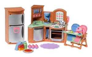Loving Family Kitchen fisher price loving family kitchen miniatures dollhouse